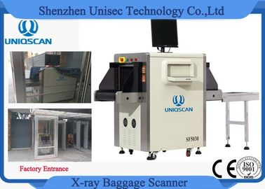Factory Worker Security Checking X Ray Baggage Scanner For Defence And Guarding